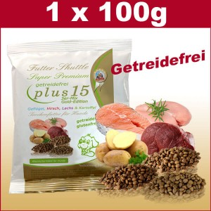 Probe Hundefutter Trockenfutter Getreidefrei Plus 15 der Superlative